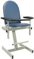 #2578 Winco Extra Tall Designer Blood Drawing Chair